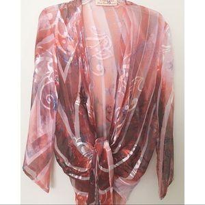 Caryna Nina Haute Couture shawl jacket